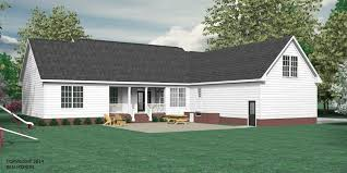 rear view house plans house plan 2428 a springfield a rear view my dream home