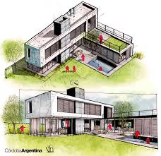 Architectural Designs Com by Architectural Flow Surrealist Home Illustrations By Neyra