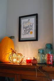rachel zimm every link up fall decor