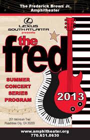 lexus south atlanta staff the frederick brown jr amphitheater 2013 summer concert season by