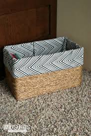 Easy Way To Build A Toy Box by Give Your Home A Makeover With These Simple No Sew Projects