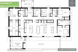 one floor plans simple one level house plans fokusinfrastruktur com