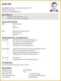 How To Write A Resume For A Job How To Write Resume For Job Nardellidesign Com