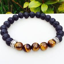 energy bracelet mens images Fathers day gift lava rock stone and tiger 39 s eye bracelet gift jpg