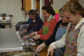 together salvation army s thanksgiving dinner in auburn
