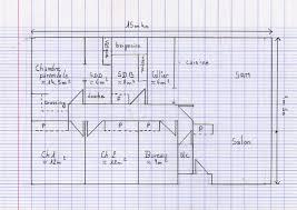 plan de maison plain pied 3 chambres gratuit plan maison gratuit 45m2