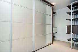 Frosted Glass Sliding Closet Doors Graceful Frosted Glass Sliding Wardrobe Doors Inspirations