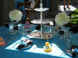 baby shower table settings baby shower table setting