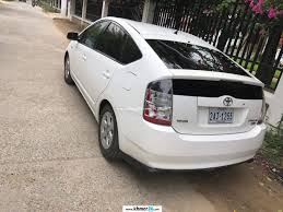 i wanna sell toyota prius 2004 white full option in phnom penh on