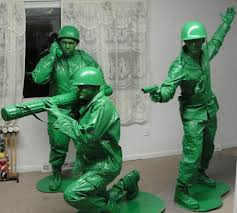Cool Guy Halloween Costumes Plastic Soldiers Fancy Dress Cool Ideas Plastic