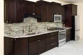 Kidkraft Urban Espresso Kitchen - espresso kitchen cabinets kitchen modern with compac quartz