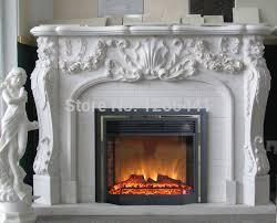Electric Fireplace With Mantel European Fireplace Set Carved Marble Fireplace Mantel With