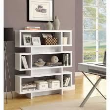 modern white bookcase peugen net
