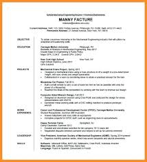 curriculum vitae format for freshers doc resume fresher engineer