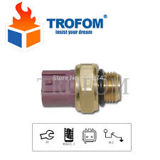 exhaust fan temperature switch wotefusi radiator cooled fan thermo switch water sensor for atv gy6