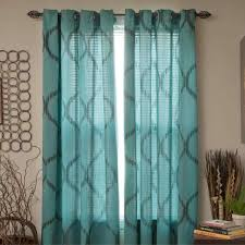 White Curtains With Green Leaves by Home Blue And Green Window Curtains Trends Sheffield Rod Pocket
