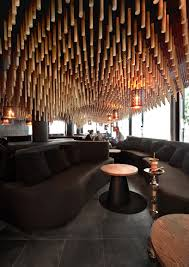 Bar Interior Design Parametric And Oriental Meet Together In A Hookah Bar In Sofia By