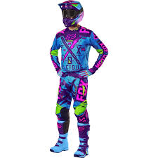 youth motocross gear combos fox racing 2016 youth 180 vicious se jersey and pant package blue