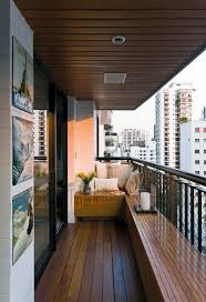 Indoor Balcony by Real Parque Loft By Diego Revollo Arquitetura Distressed Leather