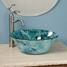 bathroom vessel sinks vessel bath sinks waterfall faucet for