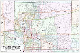 Pennsylvania District Map by Oklahoma County U2013 House Districts Metro Area Map U2013 Okg News