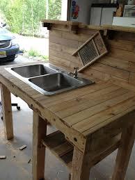 outdoor kitchen sinks ideas outdoor garden sink and workspace glam shabby chic boho
