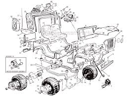 power wheels 76819 86260 parts list and diagram
