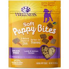 recipe for dog treats wellness grain free salmon recipe soft puppy bites