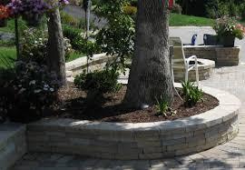 Retaining Wall Garden Bed by Retaining Walls Richmond Va Wall Installation Seating Walls