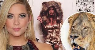 Pretty Liars Costumes Halloween Pretty Liars Star Ashley Benson Outrage Posing