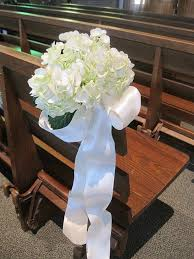 pew bows for wedding wedding ceremony flowers pittsburgh weddings blumengarten