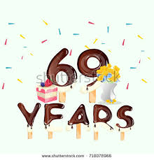 69th birthday card 69th years happy birthday card stock vector 718078966