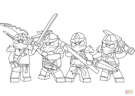 lego ninjago zx series coloring page free printable coloring pages