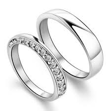 promise ring sets silver matching promise rings for boyfriend and