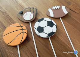 sports cake toppers all sports shape cake toppers or party decorations