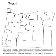map of oregon with counties new mexico to south carolina us county maps