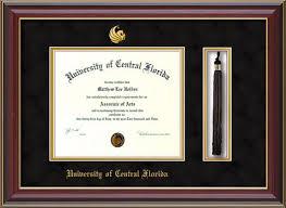 ucf diploma frame of central florida diploma frames ba ma and phd