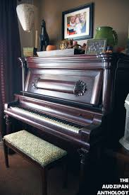 the audzipan anthology piano bench reupholster
