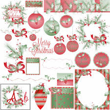 christmas clipart make your own invitations cards printables