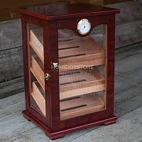 humidor cabinet admiral almost completely made out of glass