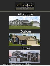 affordable home builders mn modern living concepts custom homes 4th edition catalog detroit lak