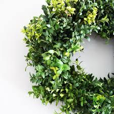 fresh wreaths boxwood wreath housewarming gifts door wreaths easter