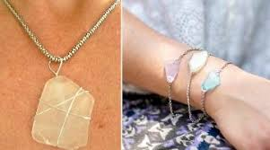 How To Make Jewelry From Sea Glass - how do you make jewelry out of sea glass style guru fashion