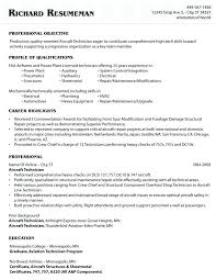 mechanic resume template aircraft mechanic resume template sle objective
