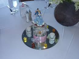 Cinderella Centerpieces Disney Fun With Sorcerer Tink Disney Wedding Reception Decorations