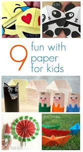 9 fun paper crafts for kids