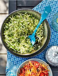cuisin courgette courgette and bulgur salad sainsbury s magazine