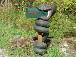 themed mailbox snake swallowing mailbox themed mailboxes on waymarking