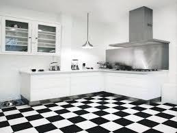Kitchen Floor Tile Ideas by Black And White Tile Floor Kitchen