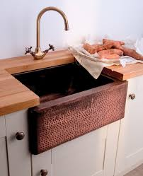 Copper Kitchen Sinks Custom Made Drop In Copper Kitchen Sink - Copper sink kitchen